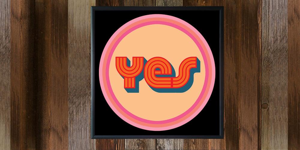 "Image of 12"" digital badge print, signed - YES"