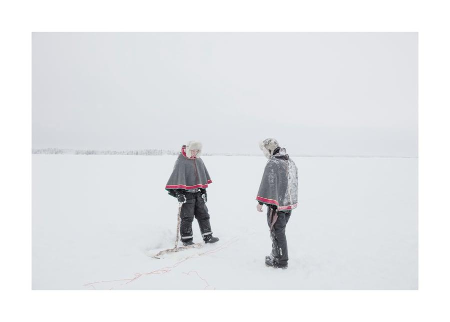 Image of Sami, Lake Inari