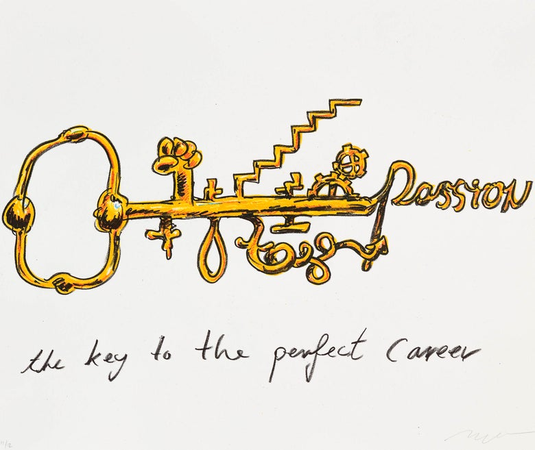 Image of The key to the perfect career