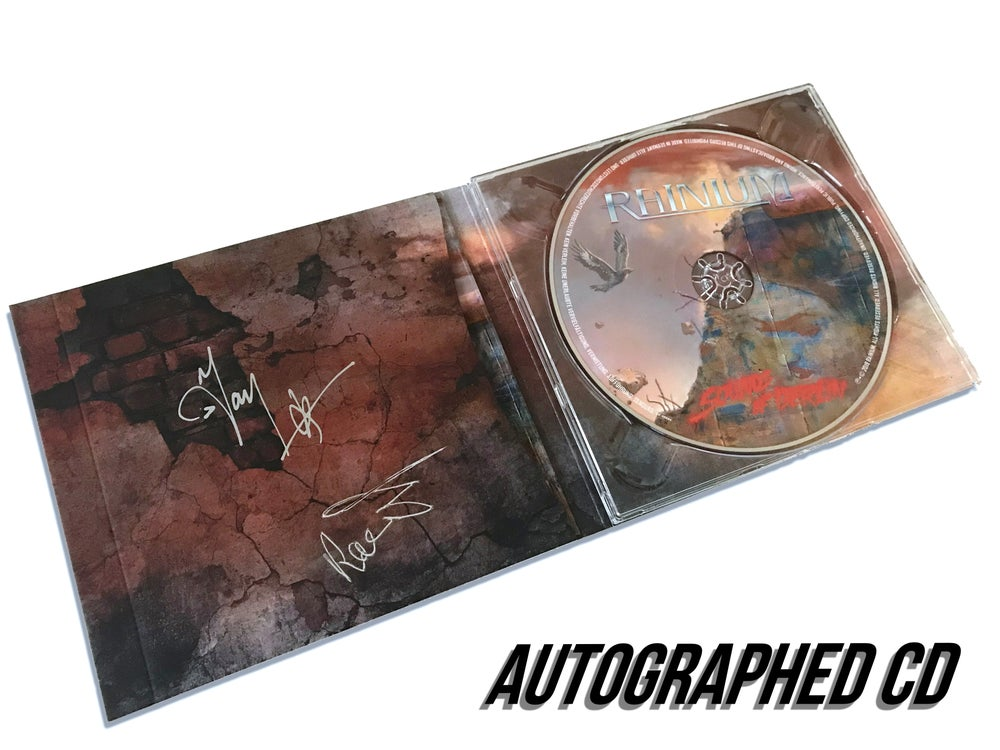 Image of SIGNED COPY of Sounds Of Berlin, RAINIUM, Audio CD Digipack