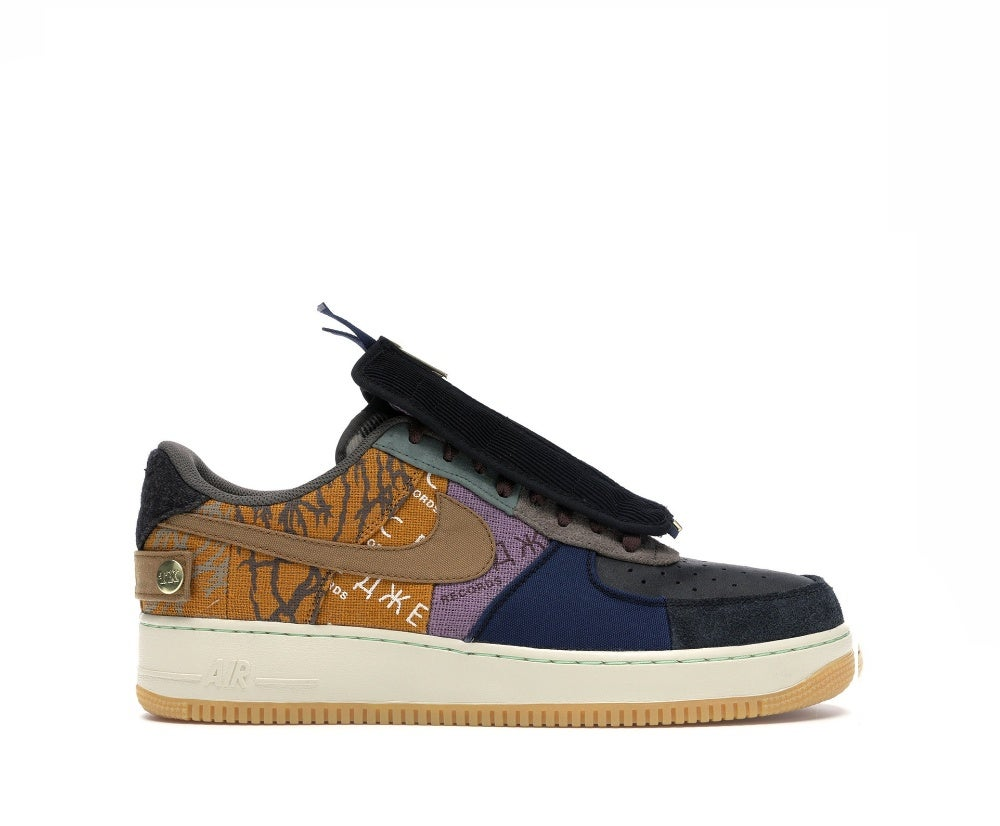 Image of NIKE AIR FORCE 1 CACTUS JACK TRAVIS SCOTT CN2405-900