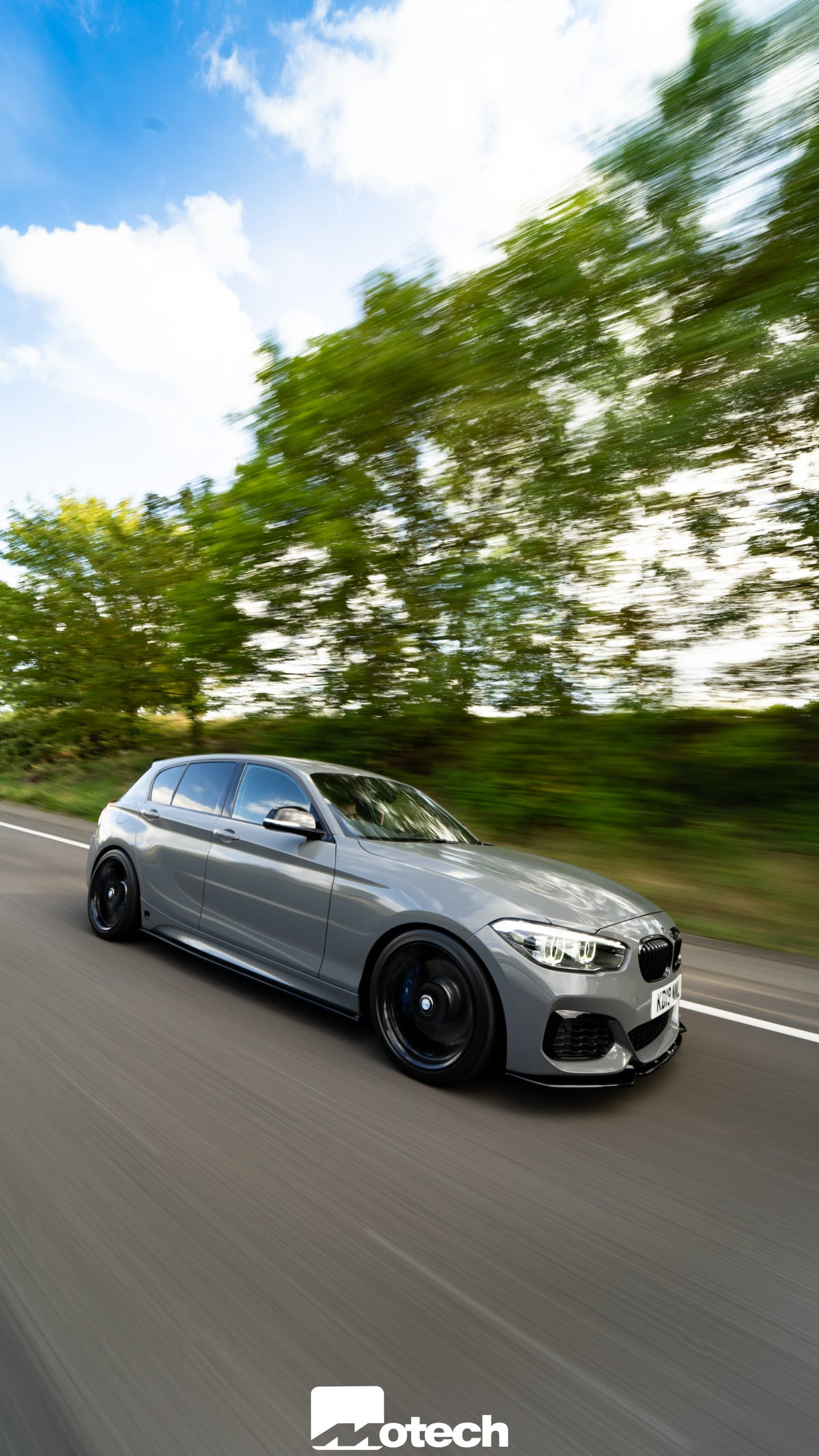 Image of BMW M135I M140I Motech Eibach Springs Stance  (-25mm/-20mm)