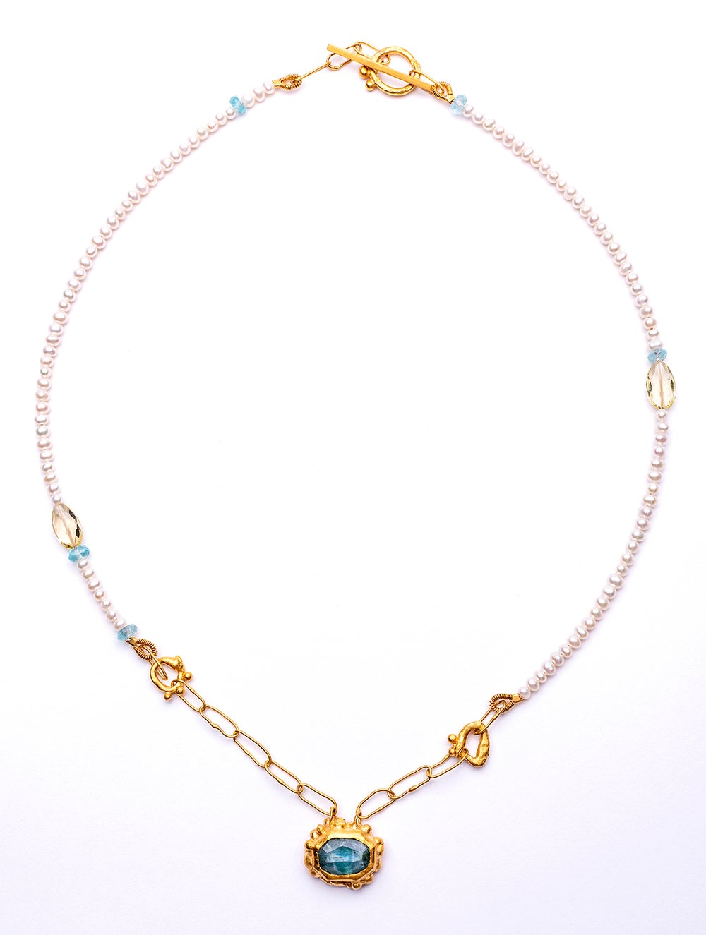 Image of Plethora necklace - Tourmaline