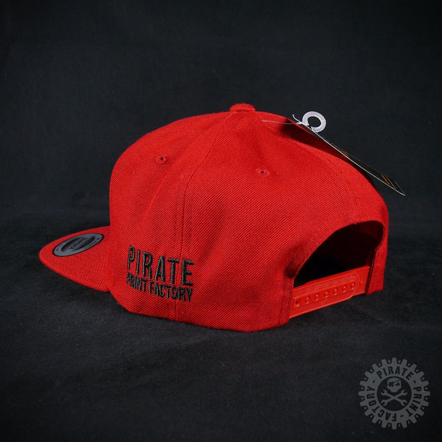 Image of SNAPBACK PIRATE RED