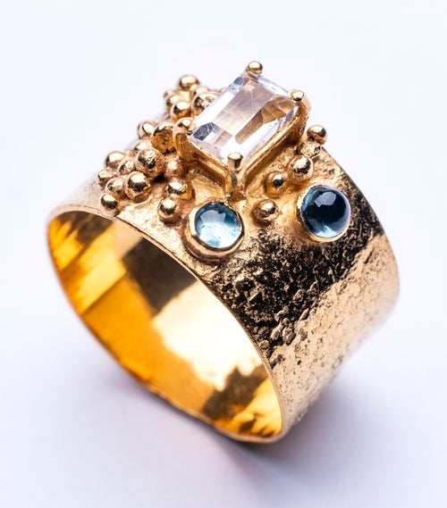 Image of Plethora ring - yellow gold vermeil