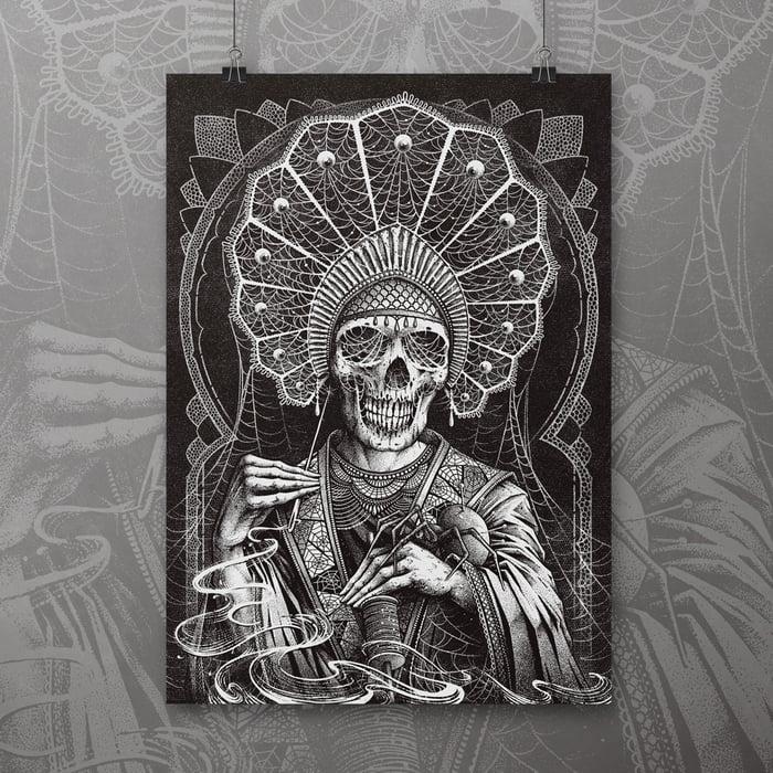 Image of 'Silk and Tears' Art Print