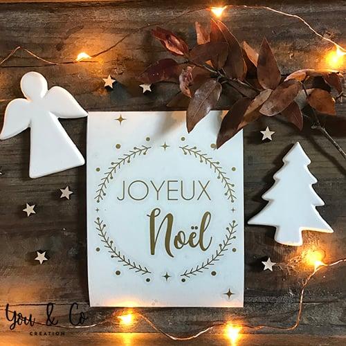 "Image of Sticker ""Joyeux NOËL"" (version n°2)"