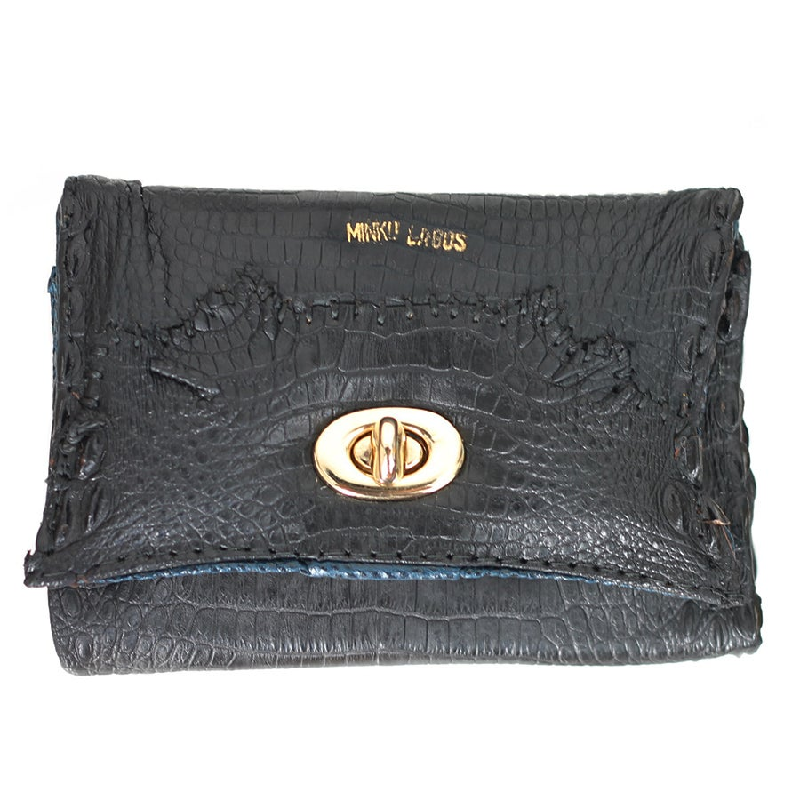 Image of Wura croc and python wallet