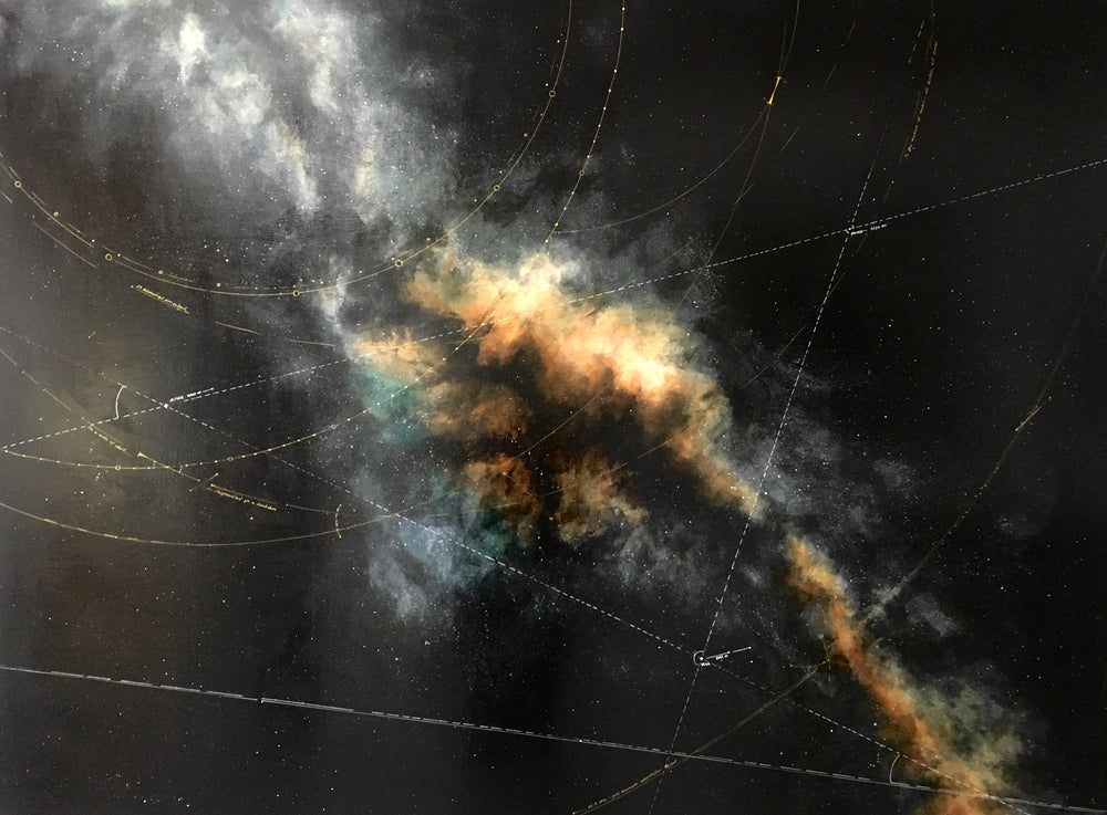 Image of Milky Way Trajectories