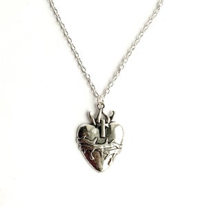 Image of Sacred Heart necklace