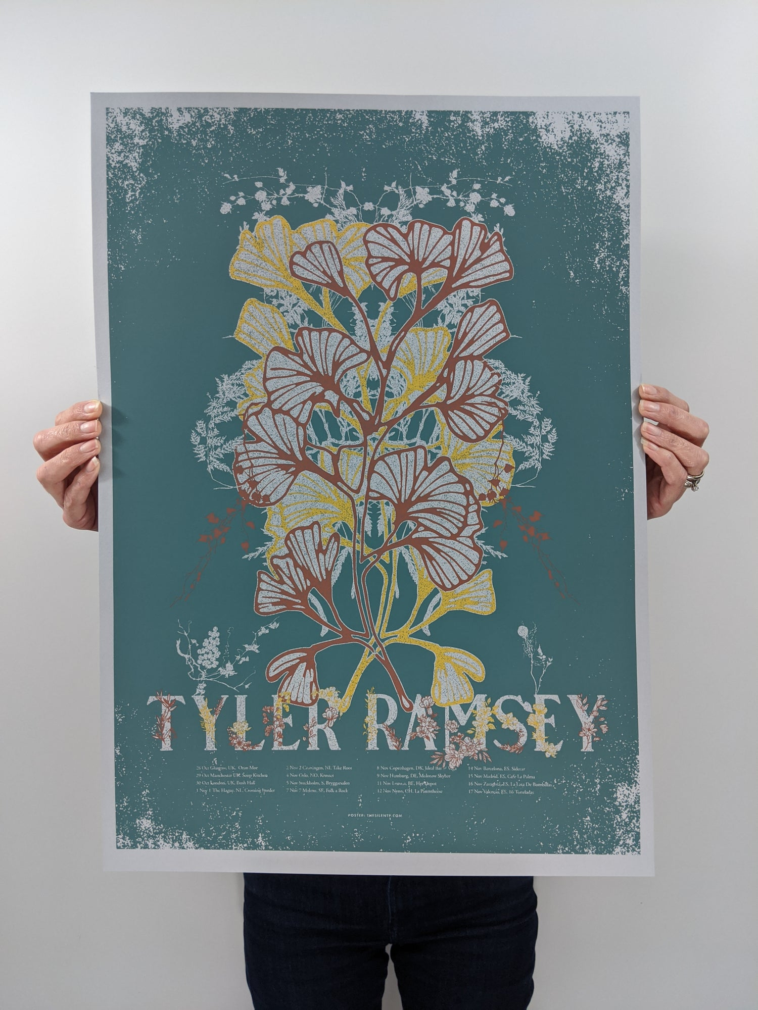 Image of Tyler Ramsey, European Tour Poster, 2019