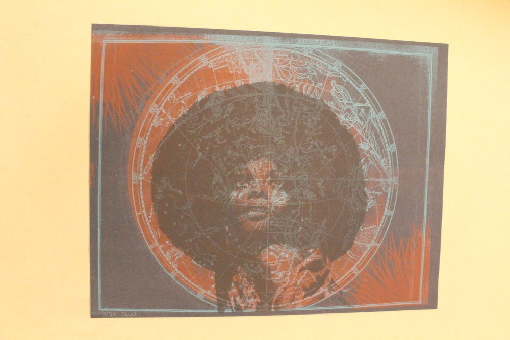 "Image of Analise Smith ""Diana Ross"" Risograph Print"