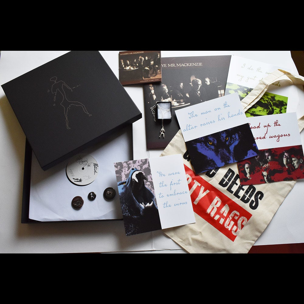 Image of ANNIVERSARY PACKAGE 1 (WITHOUT ALBUM VINYL/CD) - Very Limited Edition Good Deeds & Dirty Rags