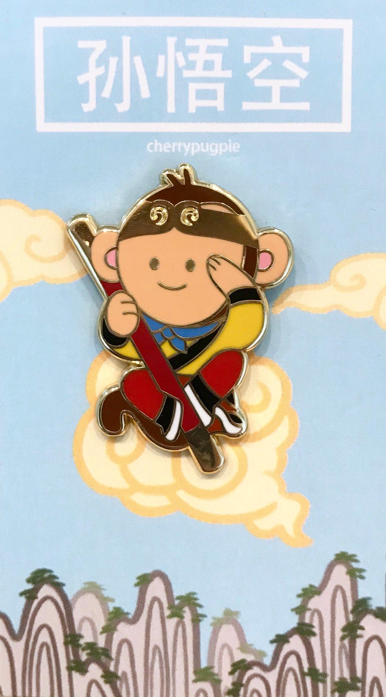 Image of Monkey King Enamel Pin