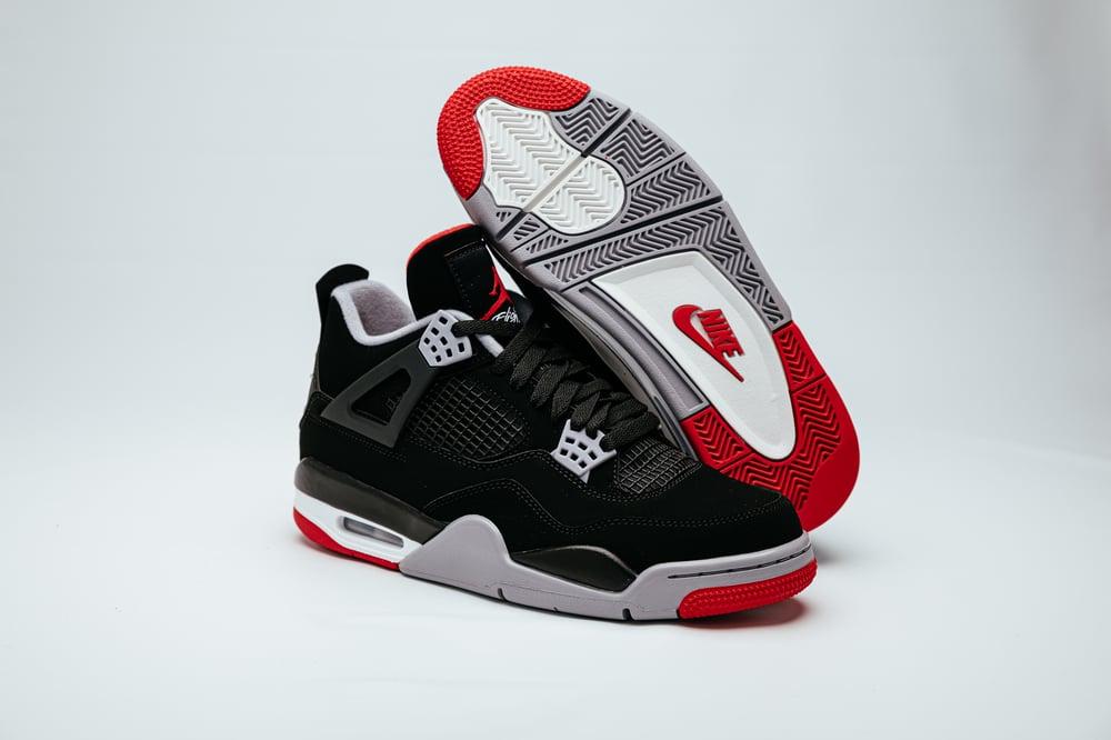 Image of Air Jordan 4 Retro - OG Bred