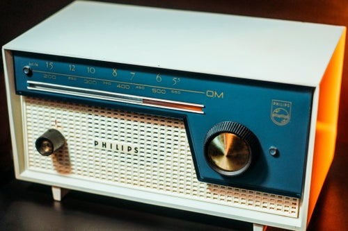 Image of PHILIPS B0I00U CADETTO 2 (1960) RADIO VINTAGE BLUETOOTH