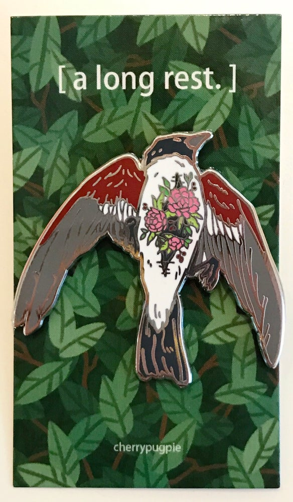 Image of Dead Bird Enamel Pin