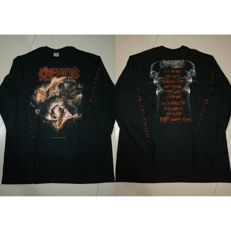 Image of KREATOR - Gods of Violence/Totalitarian Terror SS & LS