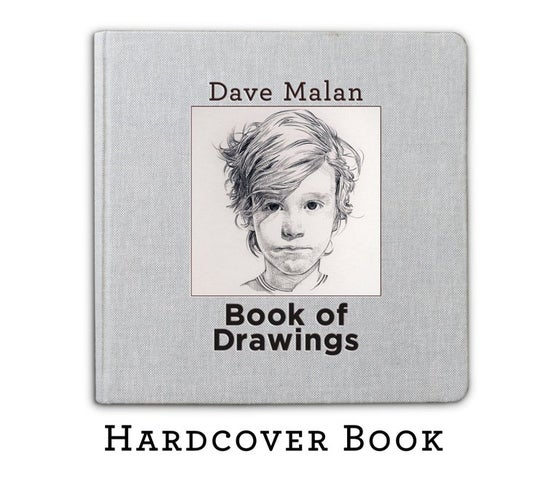 Image of Hardcover Book of Drawings