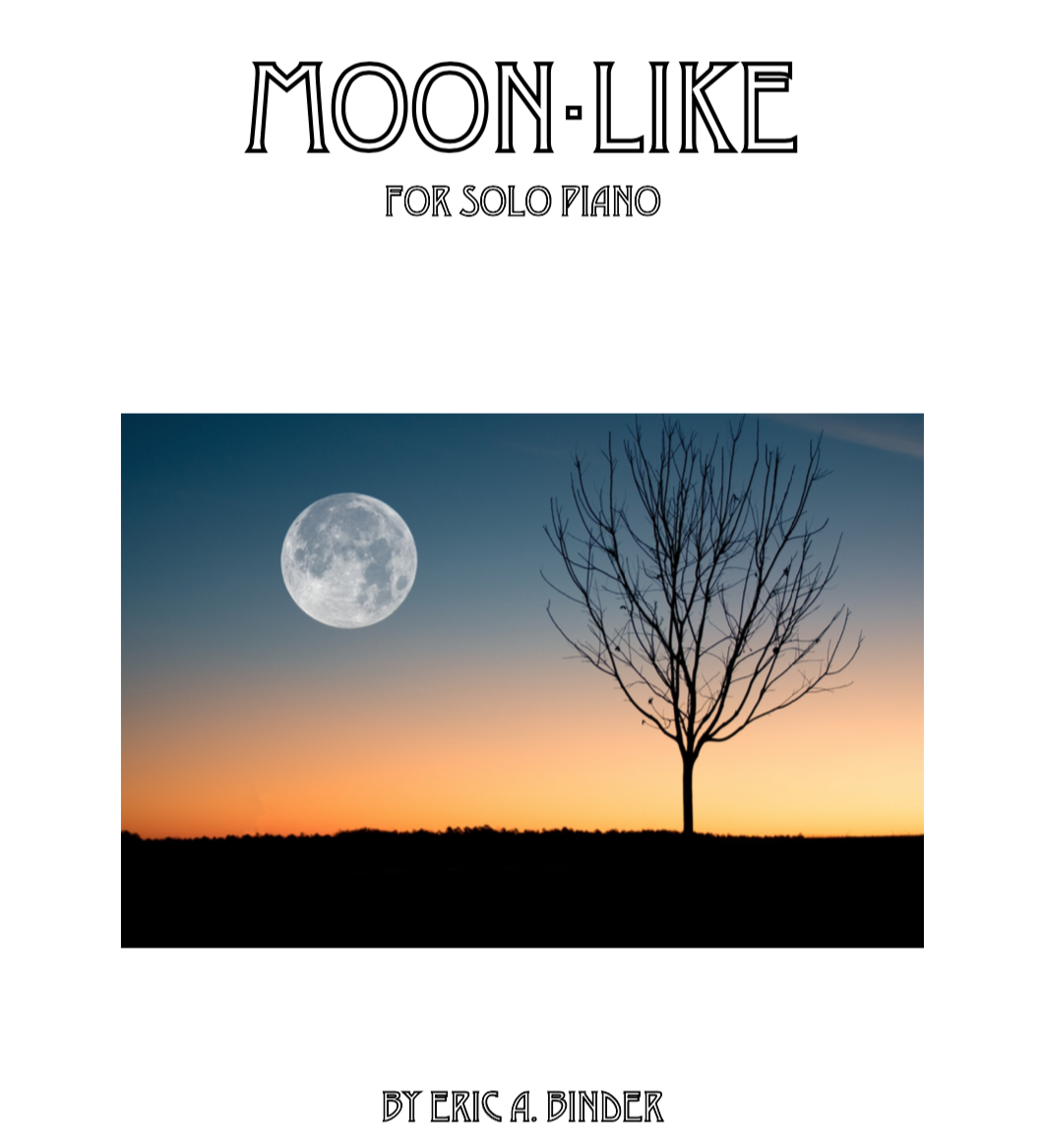Image of Moon-Like for Solo Piano