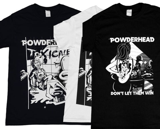 "Image of T-Shirt ""Toxicate"" / ""Don't Let Them Win"" Album"