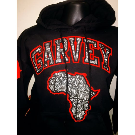 Image of GARVEY iNFRARED WHITE PAISLEY Hoody
