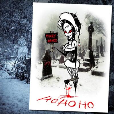 Image of hohoho -xmas card