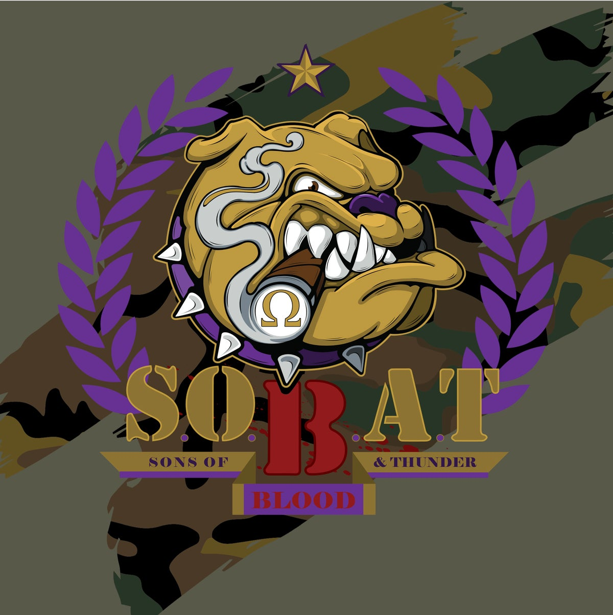 Image of Army Green S.O.B.A.T. Tee