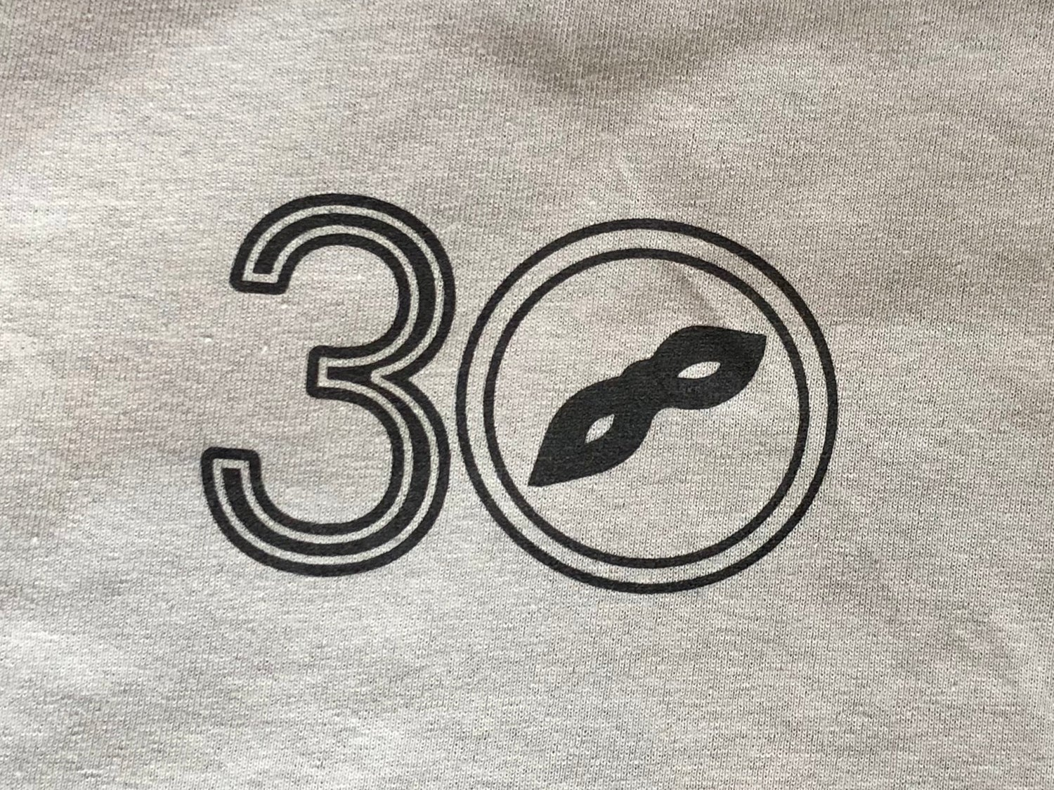 30 Years Grey Shirt