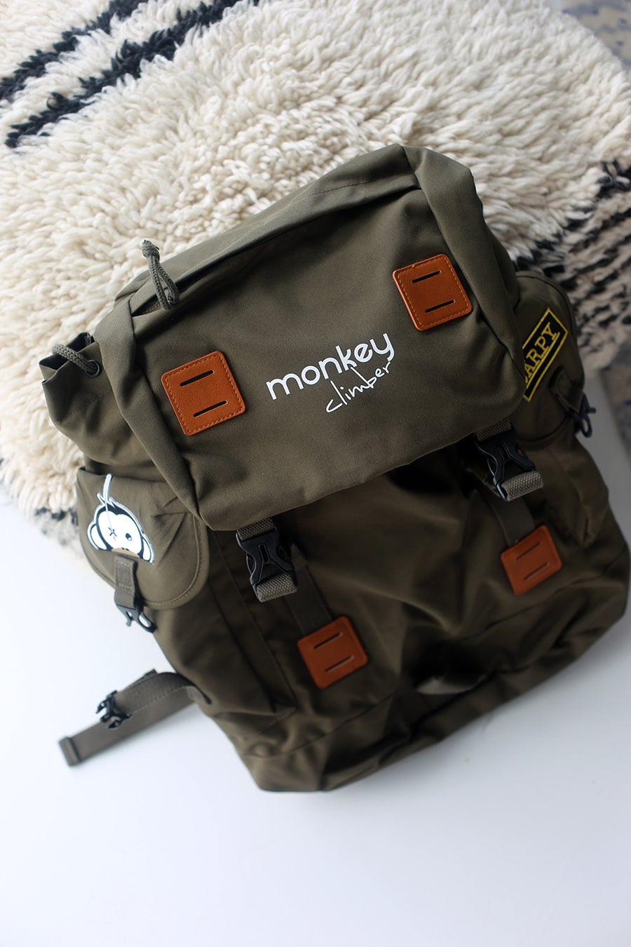 Image of Monkey Climber 30ltrs Urban Ruckall I Olive (very ltd!)