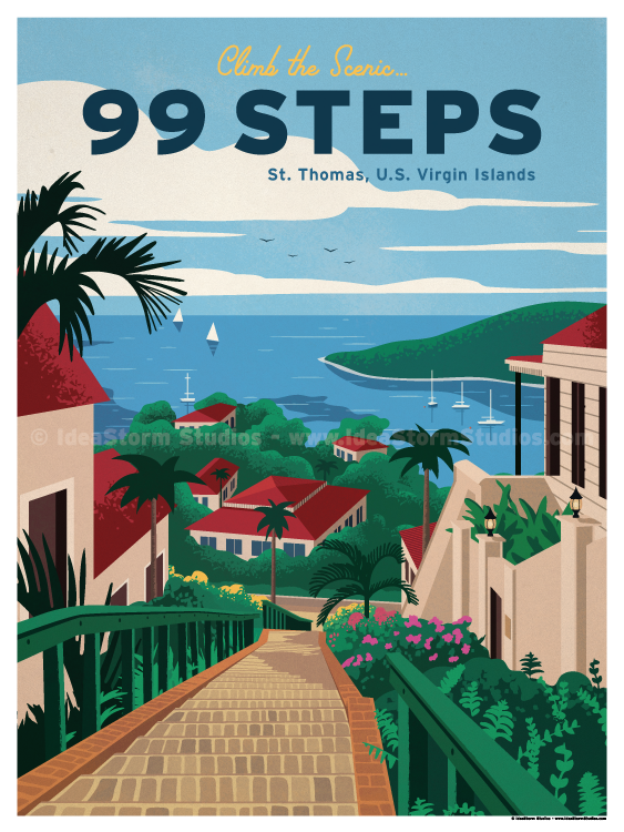 Image of 99 Steps Poster