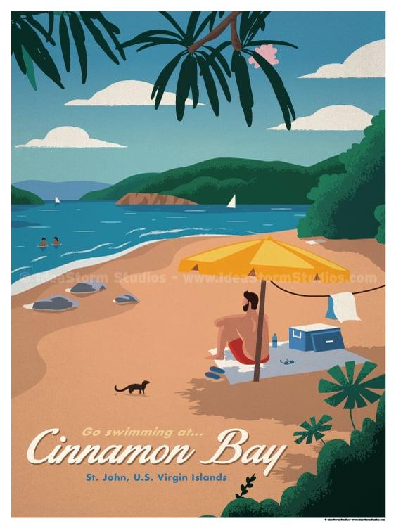 Image of Cinnamon Bay Poster