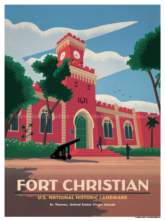 Image of Fort Christian Poster