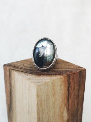 Image of Bague chalcopyrite taille 57.5 - ref. 5666