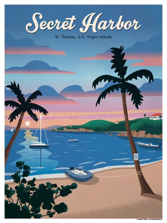 Image of Secret Harbor Poster