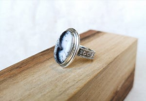Image of Bague Merlinite taille 53.5 - ref. 5664