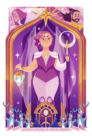 Image of Holographic - Queen Glimmer