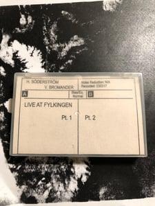 Image of  H. Söderström + V. Bromander – Live At Fylkingen CS