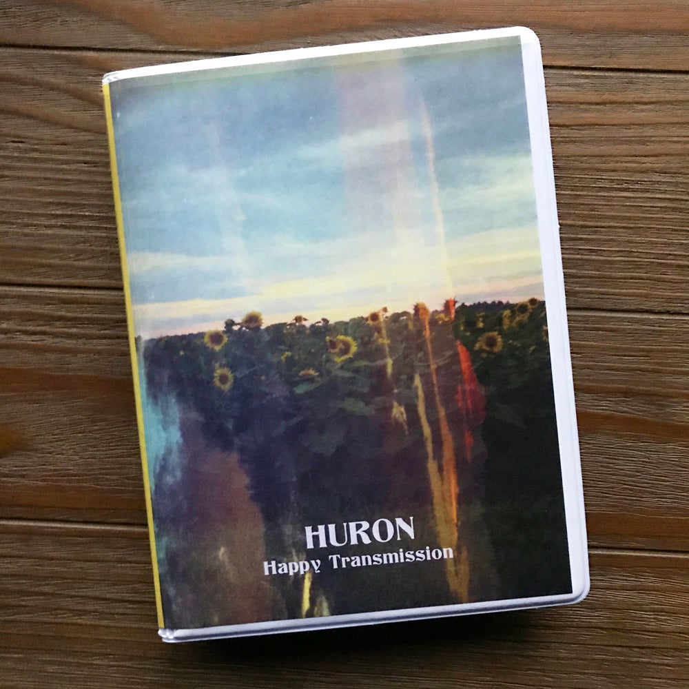 "Image of Huron ""Happy Transmission"" 2xCassette [PREORDER SHIPS BY DEC 6]"