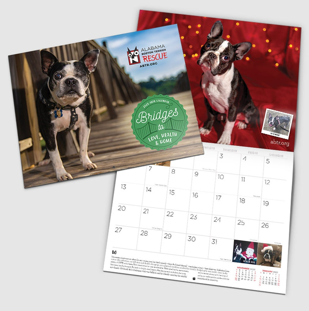 Image of 2020 Fundraising Calendar - FREE SHIPPING*