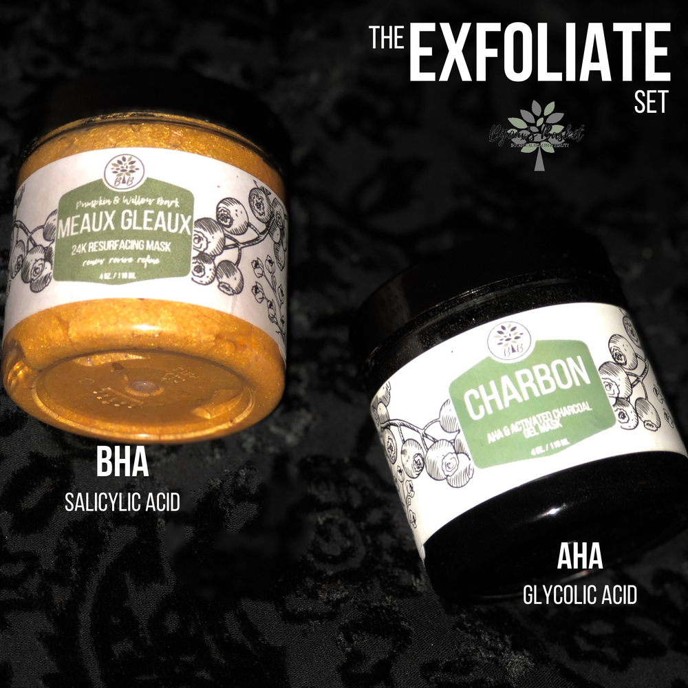 Image of The Exfoliate-AHA & BHA Mask set