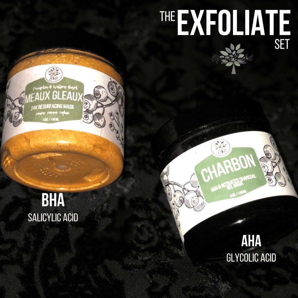 Image of The Exfoliate-AHA & BHA Mask set