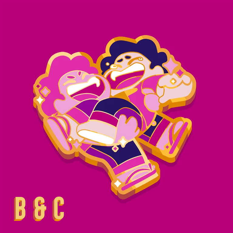 Image of Grade B and C - Pink Steven and Steven