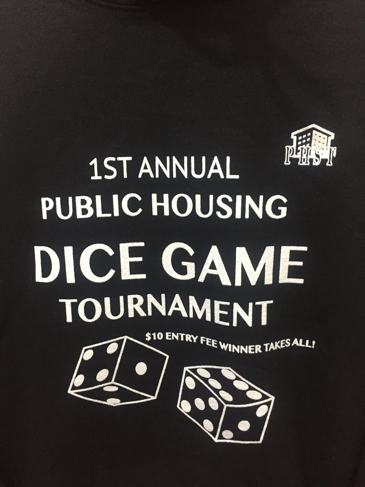 Image of (PHST DICE GAME HOODIE BLACK) *LIMITED*