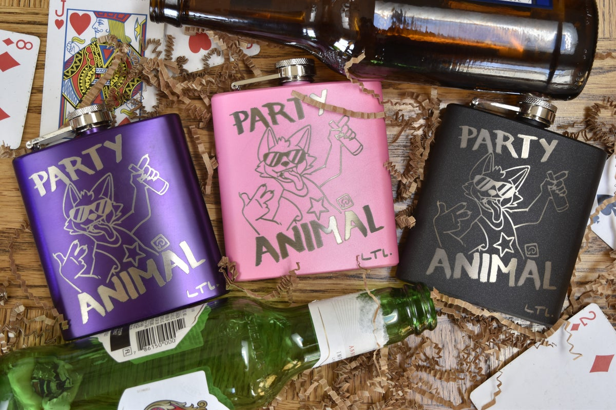 Image of Party Animal Flask