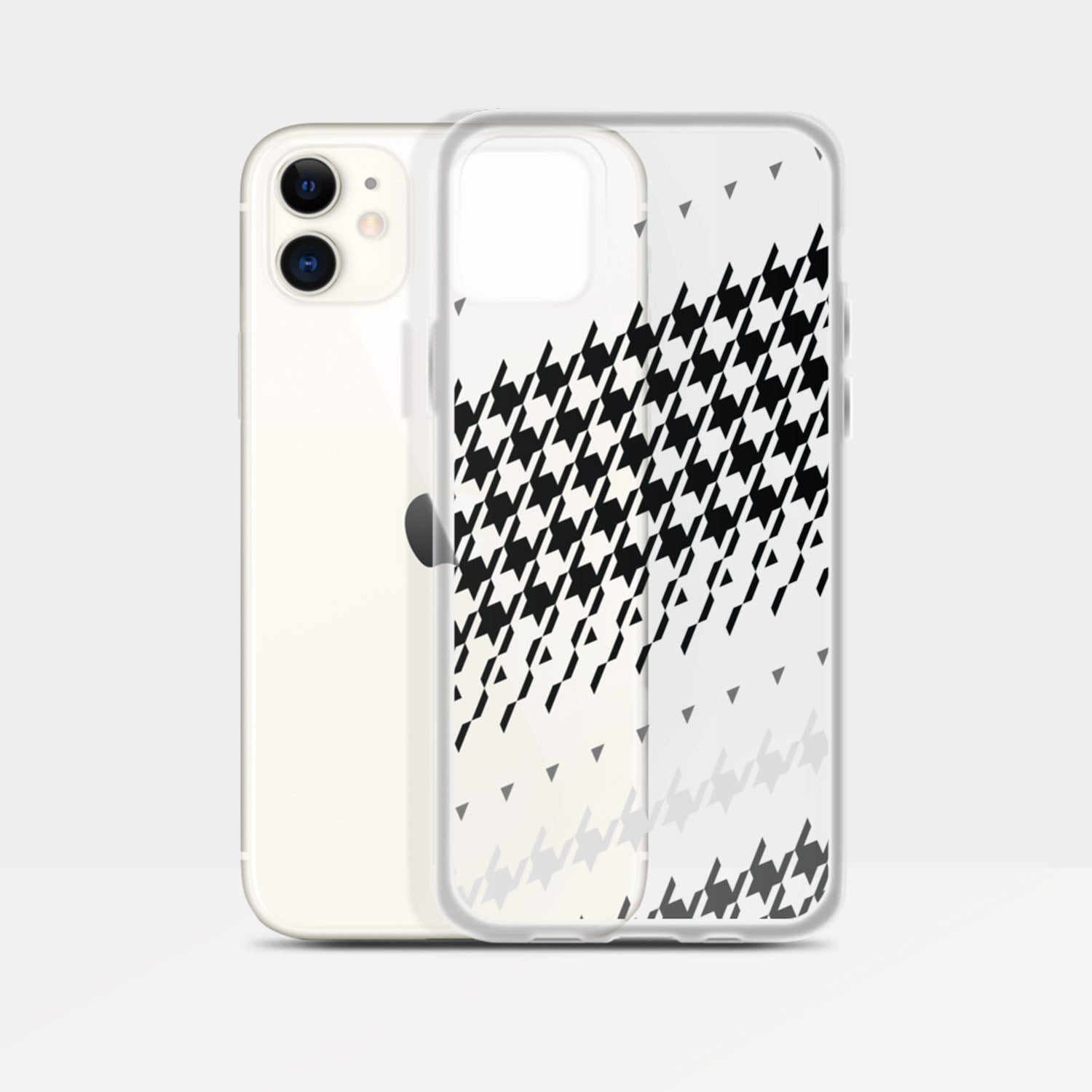 Image of Modern Houndstooth iPhone Case