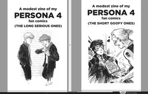 Image of Persona 4 zines - PWYW