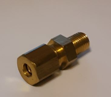 "Image of 1/16NPT to 3/16"" Compression fitting"