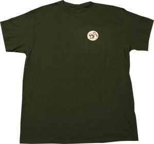 Image of SK8RATS Logo T-Shirt (Forest Green)