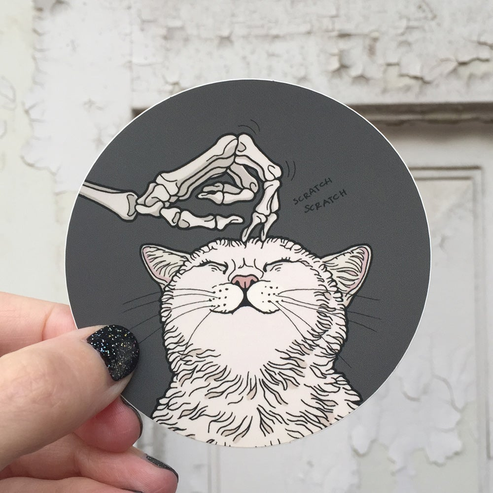 Image of Purr purr sticker